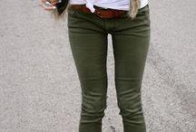 Fashion - Green pants