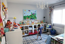 Kids Spaces @ Home / Inspiration for creating fun, imaginative spaces for kids in our home. / by Wendy