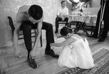 A vőlegény készülődése