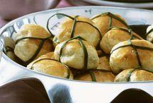 mozzarella spinat taschen