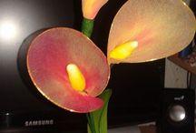My nylon stocking flowers - saját harisnyavirágaim / Nylon stocking flowers, harisnyavirág