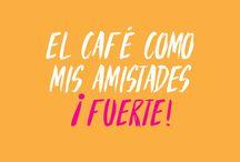 Coffee Lovers / Café —  frases • inspiración • arte • taza de café • tomando • mexicano • café y libros • granos de café • beneficios • citas • recetas • infografía | coffee • design • illustration • quotes • inspiration • ideas • infographic