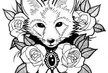 Tattoo volpe