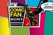 ComicFan / ComicFan By Xperia Z3 es el nuevo evento temático del Parque de Atracciones de Madrid. Ven a verlo los sábados y domingos de Abril