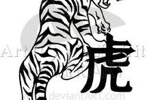 Tetování tigra
