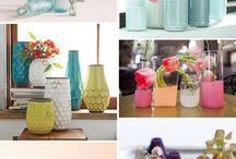 Bottles, tins and jars
