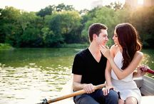 Engagement Session Ideas / This is an engagement session that took place at The Loeb Boathouse in Central Park New York City. / by Modern Wedding Photography