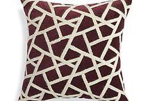 pillow/throw cushions