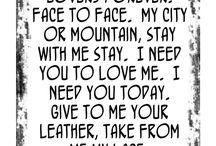 lyrics / by rick zipp