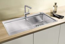 BLANCO SteelArt Sinks /  BLANCO STEELART® sinks have sleek lines, handcrafted geometric shapes and the incomparable detailing of crisp zero or elegant 10mm radius corners.