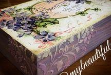 My Beautiful Craft / craft, decoupage