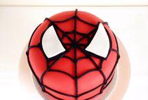 Tarta Spiderman / Podéis seguidme en Mariablablabla en Facebook