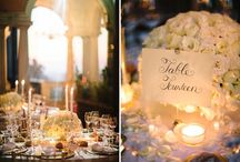 CENTRE PIECES/ by The Wedding Company