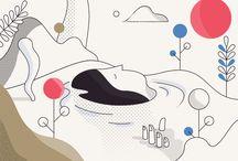 Line Based Illustration