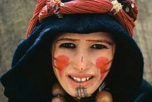 portraits de marocains d'hier et d'aujourd'hui - Moroccan people from today and yesterday