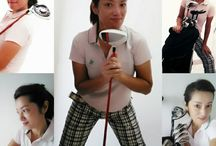 My Golf Selfie /  Life is Happy with Golf