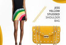 Marlafiji - Jess yellow Bag