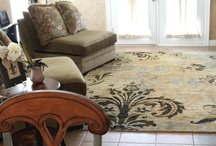 Transitional Rugs by Mohawk Home / Transitional rugs are a delicate blend of traditional and contemporary styles. This style is classically tasteful but with the supreme placement of bold colors and sharper lines.  / by Mohawk Home