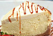 Three cream cheesecake