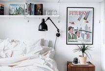 Sängbord & sänglampor
