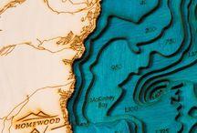 3D Interactive map board
