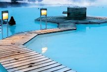 The Blue Lagoon / The magnificent Blue Lagoon spa situated in stunning lavafield