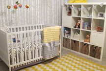 Gender Neutral Baby Room  / Inspiring, mostly modern, sometimes neutral baby room ideas!