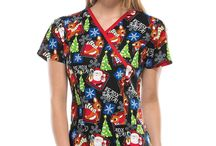 Tooniforms Scrubs / Brighten up your workplace with the fun designs and bright colors of Cherokee Tooniforms scrubs! Featuring all of your favorite characters like Snoopy, Tinkerbell, Hello Kitty, Betty Boop, SpongeBob Squarepants and more, these scrubs are sure to delight both coworkers and patients young and old. Cherokee Tooniforms: the happiest scrubs on Earth!