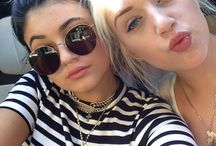 Kylie with friends and family / by XO XO