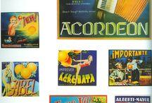 Etiquetas de naranjas / Reprografías de las etiquetas de naranjas en la Comunidad Valenciana