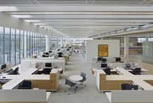 Novartis Building 337 by Rafael Viñoly Architects featured in Architectural Record / Novartis Building 337 is an innovative work environment that equips oncology researchers with the technology necessary to develop cancer treatments. The structure houses two continuous workspaces that spiral around a central atrium, creating a singular uninterrupted space that establishes strong connectivity and collaboration between employees, and allows the building to be both flexible and adaptable.