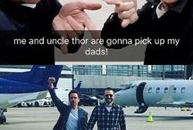 DC & Marvel funny