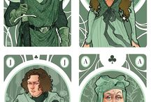 Cartas Game of thones