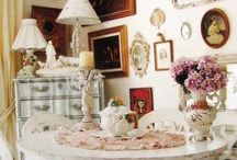 Shabby chic small rooms