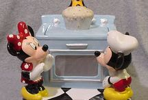 ~Disney: Cookie Jars~ / PLEASE BE CONSIDERATE! Do not pin more than 25 of my pins per day or I will block you! / by Denae Lynn