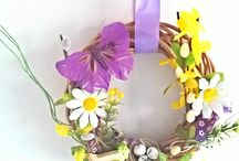 Handmade decorations / My ownn projects of decorations and wreaths