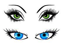 Olhos para imprimir