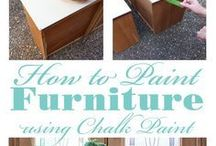 How to Chalk paint.