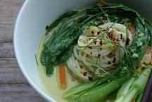 Asian soup vegan