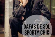 Gafas de sol sporty chic - Sporty chic sunglasses