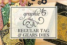 Graphic 45 Metal Dies