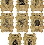 steampunk label