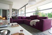 CALLIGARIS | Sofas / A collection of Calligaris' Italian, contemporary sofa collection.
