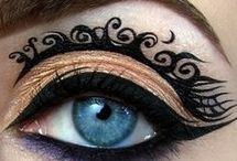 Chella Beauty - Eyeshadow Art / Stand out by getting creative with your eyeshadow! Makeup is an art, let it inspire you.
