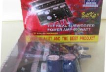 Rakitan Amplifier Mono Subwoofer Tomcat Model 4 x A1216/c2922