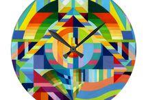 Uhren / Mache hier Werbung für meine Kunst auf Wanduhren.