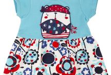 Tuc Tuc Pirate Girls Dress / Beautiful Blue dress from the Deep Blue spring and summer tuctuc collection.  Buy it for $30.00 at Silly Owl Boutique.