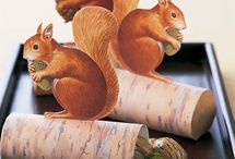 Lovely Squirrel Crafts / by Mollie Johanson