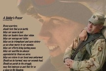 Our Brave Warriors / for my Dad, Son and all the men and women who have given so much. / by Leah Ostentini