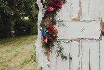 Arches, Wreaths, Swags and Garlands / Wedding Floral Inspiration